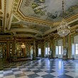 The Hall of Ambassadors in Queluz National Palace - Stock Photo