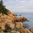 Stock Photo: Bass Harbor Coast