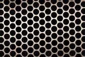 白色网格圆形背景 — 图库照片