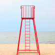 Lifeguard station — Stock Photo