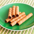 Wafer rolls — Stock Photo #4250734