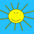 Stock Photo: Funny Sun