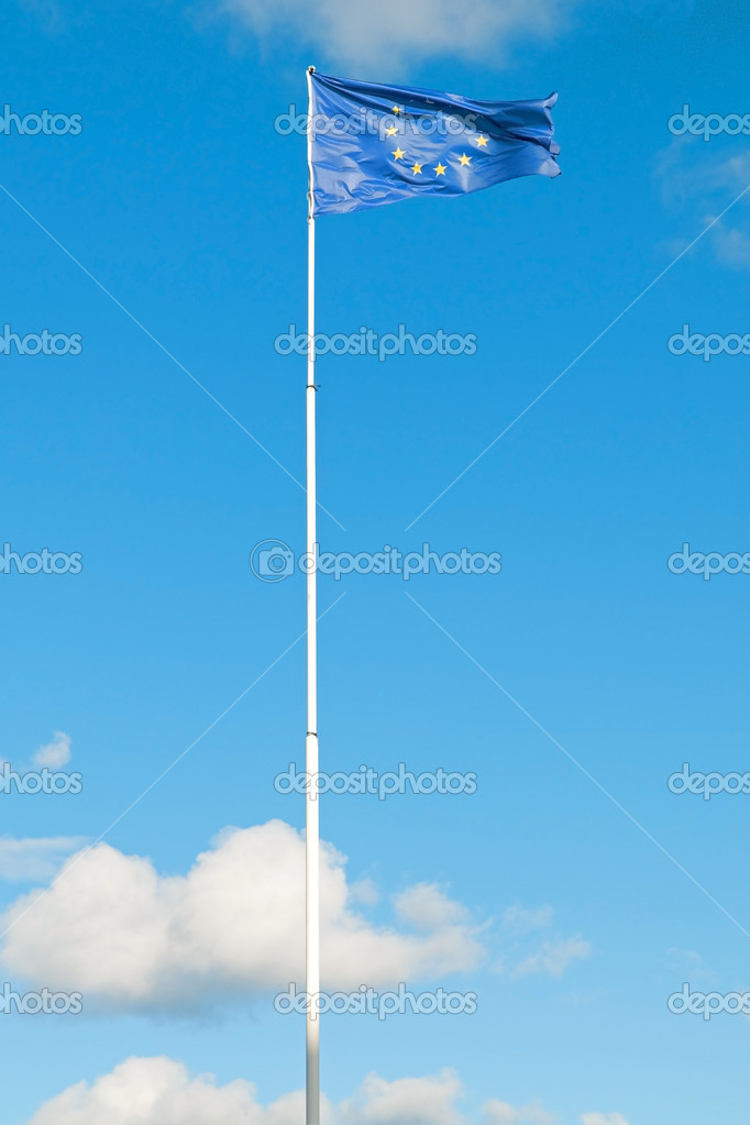European Union flag  — Stock Photo #4251372