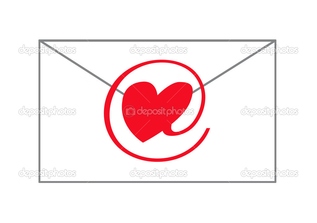 E-love message — Stock Photo #4252554