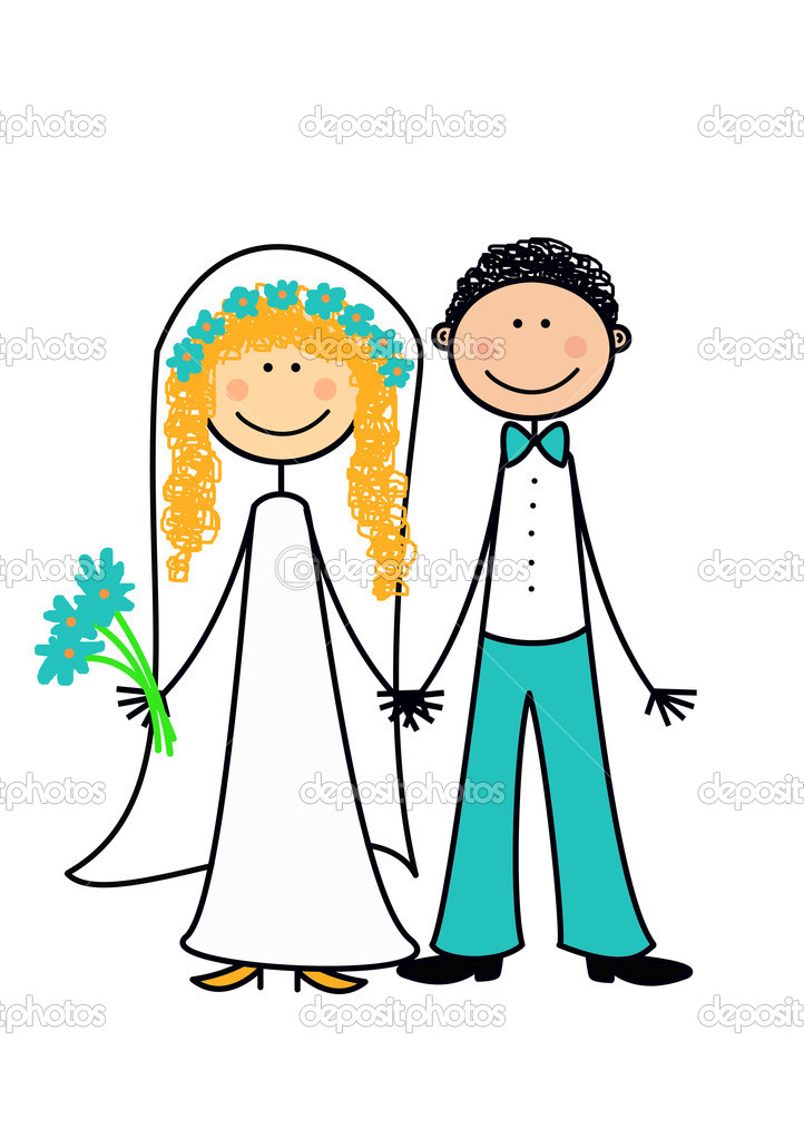 Happy married couple  Stock Photo #4252558