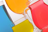 Colours and glass — Stock Photo