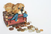 Treasure chest. — Stock Photo