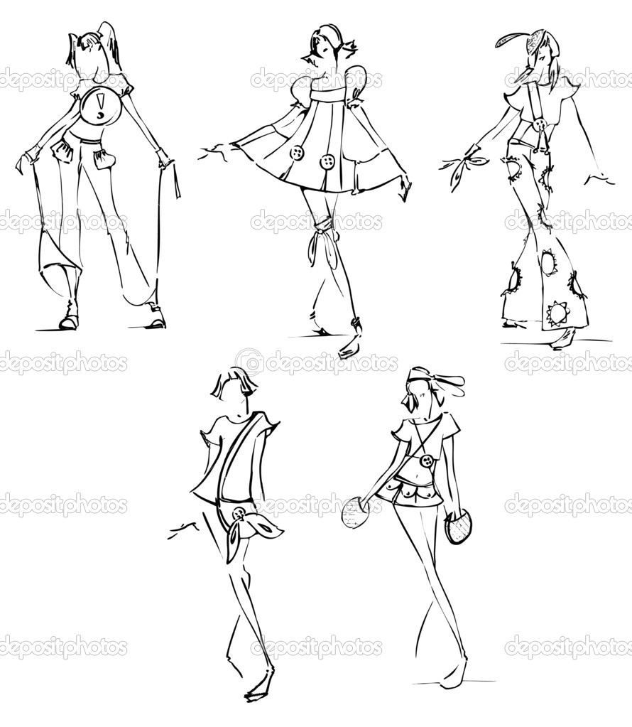 The gallery for --> Fashion Illustration Sketches Software