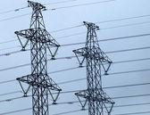 Elektriska torn — Stockfoto