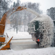 Snow removal — Stock Photo #4533370