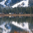 Stock Photo: Mirrored lake