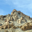 Stock Photo: Desert outcrop