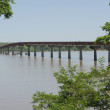 Stock Photo: Tennessee River bridge