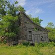 Old Ozark homestead — Stock Photo