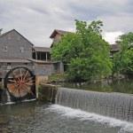 Old water wheel — Stock Photo #4250272