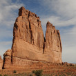 Canyonlands monolith — Stock Photo