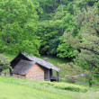 Stock Photo: Blue Ridge Parkway abode