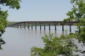 Tennessee River bridge — Stock Photo