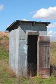 Kansas outhouse — ストック写真