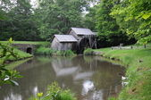 Blue Ridge Parkway water mill — Stock Photo