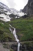 Montana waterfall — Stock Photo