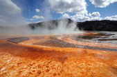 Yellowstone hot color — Stock Photo