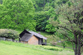Blue Ridge Parkway abode — Stock Photo