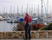 Monterey harbor — Stock Photo