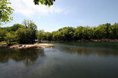 Oklahoma's Illinois River — Stock Photo