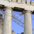 Reconstruction of Parthenon — Stock Photo