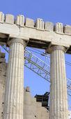 Parthenon Tapınağı yeniden inşası — Stok fotoğraf