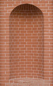 Brick niche — Stock Photo