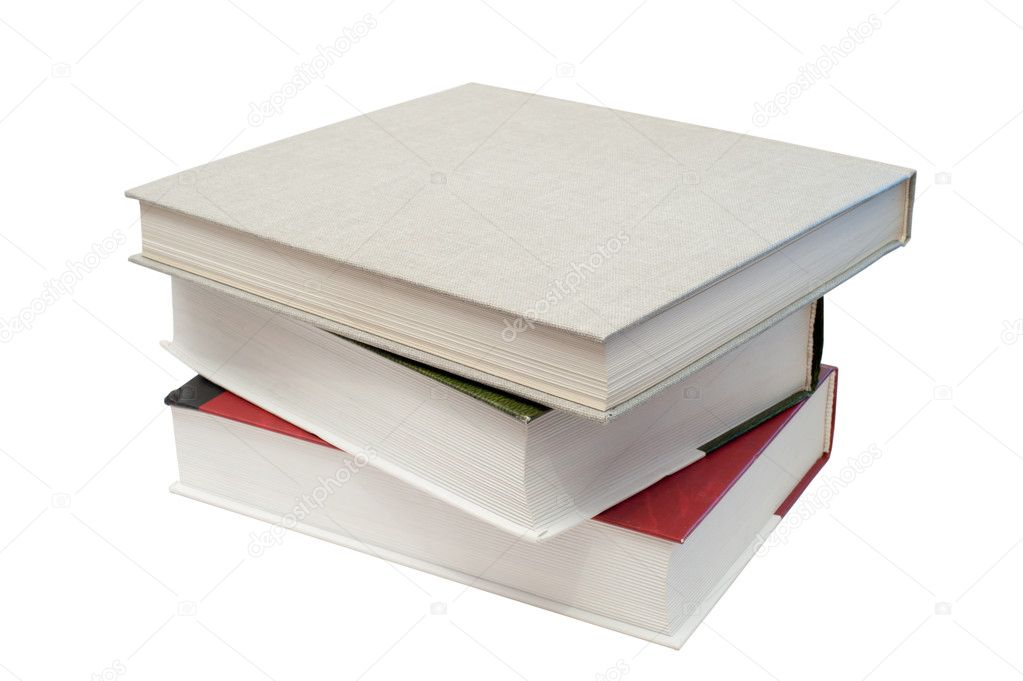 Pile of books — Stock Photo #4275452