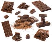 Schokolade-set — Stockfoto