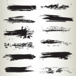 Line brushes 02 - Stock Vector