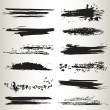 Line brushes 07 — Stock Vector