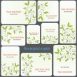 Business card - vector collection — Vector de stock #4278973