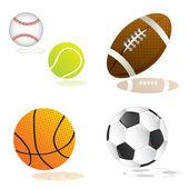 Spor top — Stok Vektör