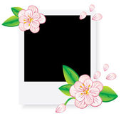 Frame for photo collage — Stock Vector