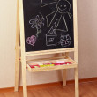 Preschool blackboard — Stock Photo