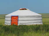 Yurt — Stock Photo