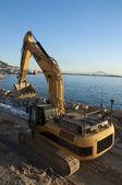 Reclaiming Land in Gibraltar 1 — Stock Photo