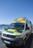Gibraltar zdravotní záchranné služby — Stock fotografie