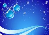 Blue Christmas Background — Stock vektor