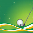 Abstract Golf Background - Stock Vector
