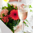 table decoration — Stock Photo