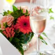 Table decoration - Stock Photo