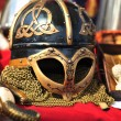 Helmet of Vikings — Stock Photo