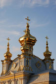 Church of Grand Palace in Petrodvorets — Stock Photo