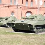 Artillery museum, St.Petersburg, Russia — Stock Photo #4393054